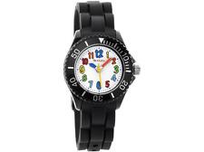 Tikkers ™ TK0016 Nero Orologio per bambini in scatola movimento AL QUARZO REGALO PER RAGAZZI RRP £ 19.99 😉