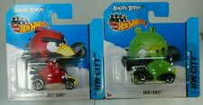 Hotwheels Angry Birds Pájaro Rojo y tiempo de pantalla verde cerdo MINION Coches! nuevo!