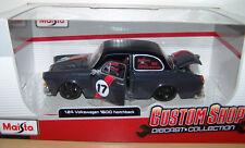 Maisto - Custom Shop - VW 1600 Typ 3 Stufenheck - Tuning - 1:24