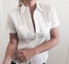 Sportscraft Cotton Blend Short Sleeve Tops & Blouses for Women