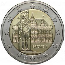 MONETA DA  2 EURO COMMEMORATIVA GERMANIA 2010