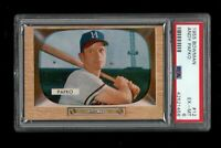 1955 Bowman BB Card # 12 Andy Pafko Milwaukee Braves PSA EX-MT 6 !!!
