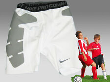 New NIKE PRO COMPRESSION Boys  Combat Pants White Medium Age 10-12 Years