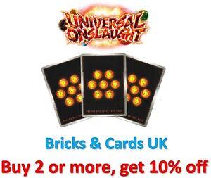 Dragon Ball Super Card Game Universal Onslaught - R / SR / SPR / IAR / RLR Cards