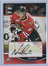 15-16 ITG Final Vault 12-13 Heroes and Prospects Nicolas Petan Autographed Card