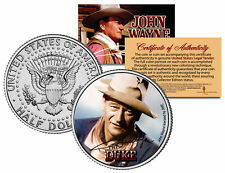 "John Wayne ""Rio Bravo"" JFK  Kennedy Half Dollar US Coin *Officially Licensed*"
