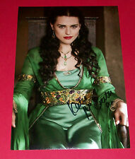 KATIE MCGRATH MERLIN HAND SIGNED 12X8 AUTOGRAPH PHOTO MORGANA