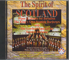 THE LOWLAND BAND - THE SPIRIT OF SCOTLAND - PIPES & DRUMS - MINT IMPORT CD