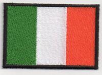 PATCH RICAMO TOPPA BANDIERA FLAG IRLANDA  cm. 5,5X8