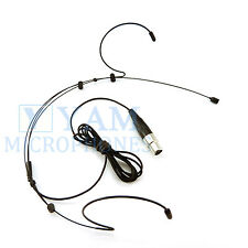Dual Headset mic Yam Black Headworn Mic FOR Electro Voice RE-2 RE-1 Bodypack