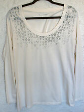 Eddie Bauer 100% Cotton Long Sleeve Printed Tee Size XL