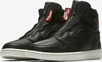Nike Air Jordan 1 Retro High Zip Black AT0575-006 Women Size US 9 New Bred NEW