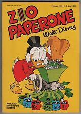 Carl Barks ZIO PAPERONE N.4 mondadori 1988 originale uncle scrooge walt disney