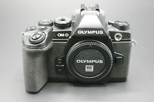 Olympus OM-D E-M1 16.3MP Digital MIrrorless Camera Micro 4/3 Body Only - Black