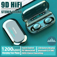 V9 Wireless Earphones Bluetooth Headset TWS Mini Stereo Headphones Sport Earbuds