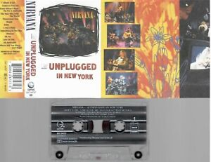 NIRVANA Unplugged in New York  RARE   CASSETTE  COLLECTORS