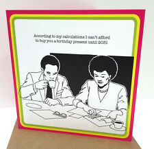 Cheeky birthday/greetings card for your friend or partner