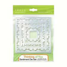 Tonic Verso THINKING OF YOU Sentiment Thin metal Cutting Die set 7 dies 513E