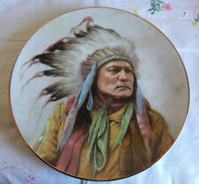 PRIDE OF THE CHEYENNE  PLATE BY PERILLO COUNCIL OF NATIONS
