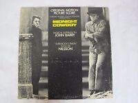 Cult Film Soundtrack MIDNIGHT COWBOY United Artists LP John Barry HARRY NILSSON