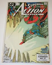 Superman Featured in Action Comics Issue # 646 October 1989