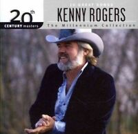 KENNY ROGERS 10 Great Songs 20th Century Masters Millennium Collection CD NEW