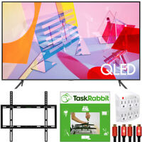 "Samsung 75"" Q60T QLED 4K UHD HDR Smart TV 2020 +TaskRabbit Installation Bundle"