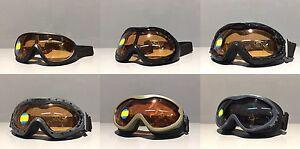 Skibrillen verschiedene Farben/Modelle