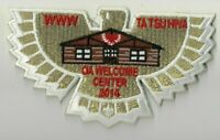Boy Scout OA 138 Ta Tsu Hwa Lodge 2014 Welcome Center Flap