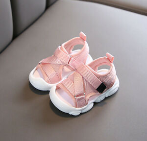 Summer Boys Girls Child Outdoor Sandal Baby Toddler Kid Casual Trainner Shoes