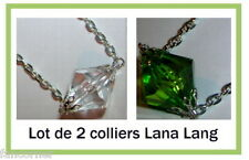 Smallville lot de 2 colliers lana lang Smallville lana lang's necklace lot of 2