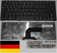 Clavier Qwertz Allemand ASUS N10 N10E 1101HA V090262CK1 0KNA-1J1GE01 Noir/Black
