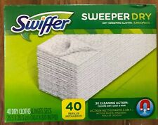 SWIFFER SWEEPER Dry Cloths 40 RefillS