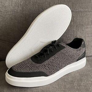 Cole Haan Grandpro Rally Stitchlite Sneaker Black/Bright White Sz 11 Casual New