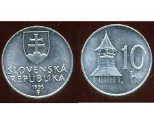 SLOVAQUIE 10 halierov 1993  ( bis )