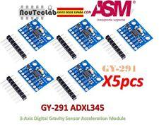 5pcs ADXL345 GY-291 3-Snodi Digitale Gravity Sensore Accelerazione Modulo Tilt