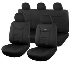 Tailor Made Sharkskin Ultimate Neoprene Seat Covers for MAZDA BT50 UR SERIES BLK
