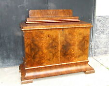 Art Deco Sideboard, Side Cabinet, Buffet. 1920s, 1930s Vintage Antique Walnut.