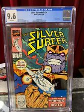 SILVER SURFER V3 #34 CGC 9.6 RETURN of THANOS ICONIC COVER