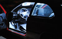 8x Lampes Blanc Eclairage Intérieur Pour BMW 3er E46 Coupé à partir de 04.1999