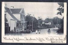 DANEMARK  Old postcard SVENDBORG OG TROENSE TO ROUEN YEAR 1901