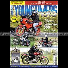 YOUNGTIMERS MOTO 8 SUZUKI DR 650 HONDA CA REBEL GITANE TESTI GILERA 500 SATURNO