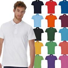 B&C Herren dünnes Poloshirt S - 4XL NEU Piqué Polo Shirt ID.001 Polo Shirt