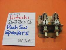 HITACHI 2638013 PUSH SWITCH BANK SPEAKERS SR-604 SR-504 SR-304 STEREO RECEIVER