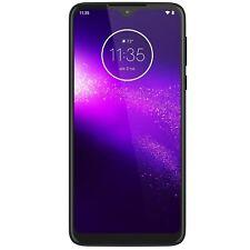 """Grado A1 Motorola Macro Spazio Blu One 6.2"""" 64GB 4G DUAL SIM unloc A1/pags 0002GB"""