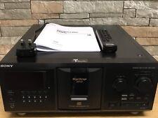 Sony CDP-CX355 Mega Storage 300-Disc changeur CD Player Noir avec télécommande
