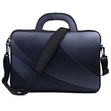"Neoprene Laptop Computer Briefcase Bag W. Shoulder Strap & Handle 15.6""  1602"