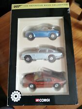The Definitive Bond Collection 007 Corgi Cars Vehicles