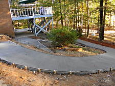 Flexible Concrete Masonry Forms for Sidewalks, Pool Deck -Continuous 50' Roll