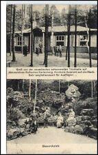 Roßwein Sachsen 1927 Trinkhalle Hartenberg Personen am Bismarck-Platz V.: Gierth
